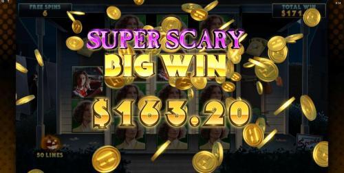 Halloween super scary big win